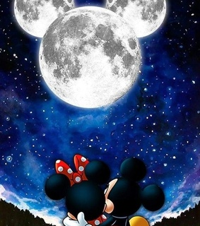 girl, disney and minnie mouse
