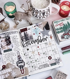 journaling, planner and month
