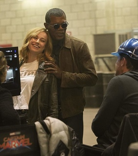 nick fury, marvel and captain marvel