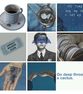 blue, aesthetic and number five