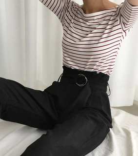 fashion, casual style and strip