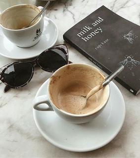 coffee mood, sunglasses and cup