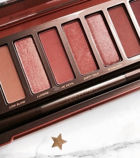 brown, naked palette and eyeshadow