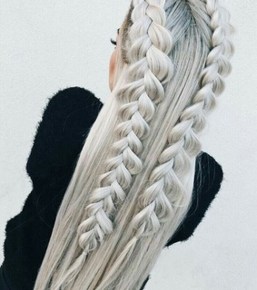 french braid, hairstyle and chic
