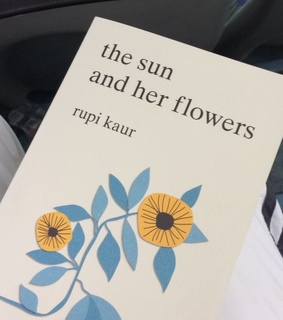 the sun and her flowers, beautiful and books