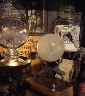 ouija board, spirits and witch