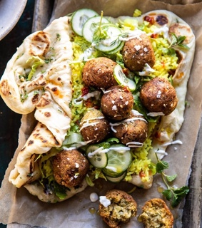 bread, s and falafel