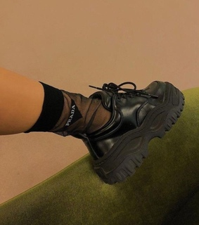 fashion, grunge and black shoes