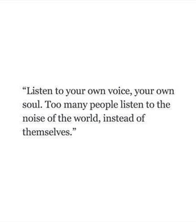 listen, voice and heart