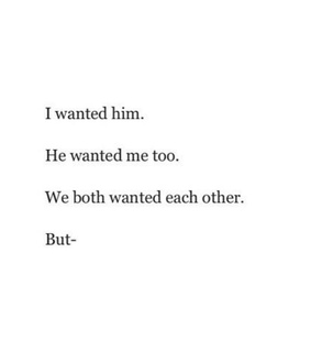 want you, us and him