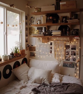 indie, art and rooms aesthetic