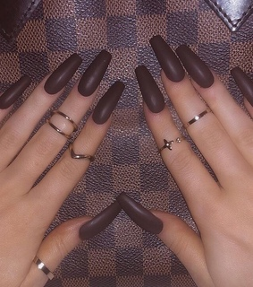 acrylics, claws inspo and nails goals