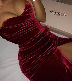 red, fashion and dress