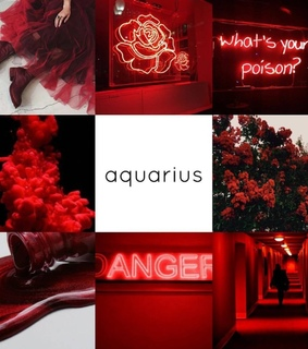 red,  and aesthetic