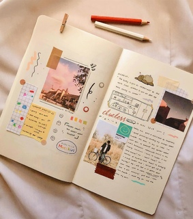 bullet journal, journal and inspo