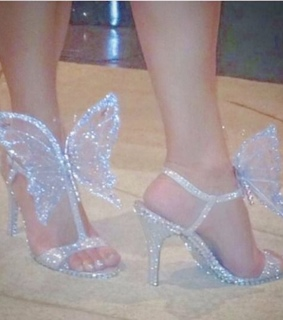 shoes, angel and glam