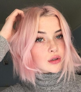 pink, girl and beatiful