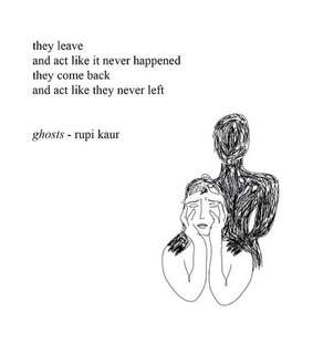 ghosts, quote and poetry