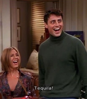 friends, tequila and tv