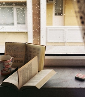 vintage, old books and peaceful