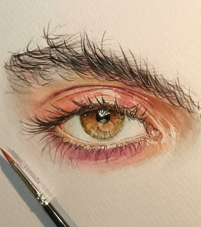 s, drawing and eyes