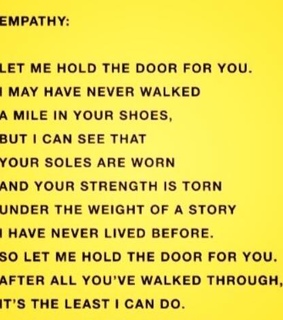 quote, yellow and empathy