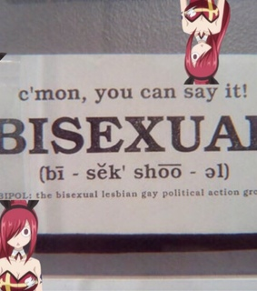 fairy tail, help and bisexual