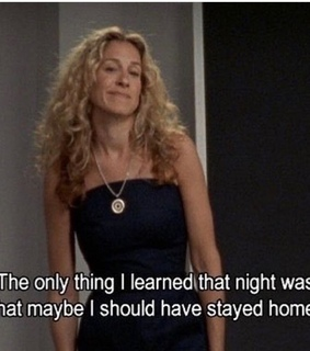night, sex and the city and quote