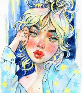 watercolor drawing, painting and illustrate