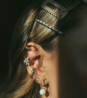 accessories, beautiful and ear