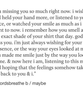 heartbreak, missing you and quote