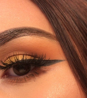 neutral, eyeliner and nyx