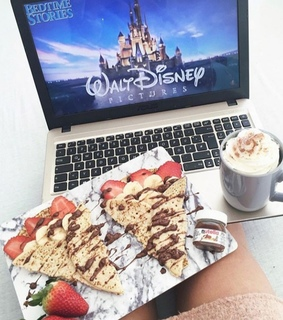 inspiration, relaxation goals and crepes