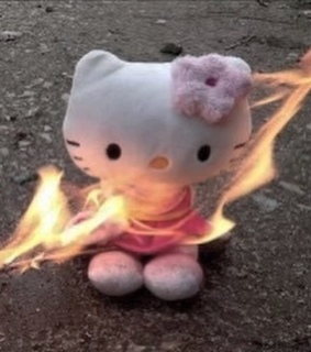 ded, fire and cute