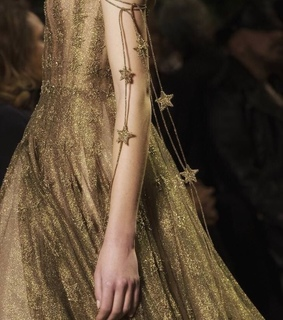 dress, star and gold