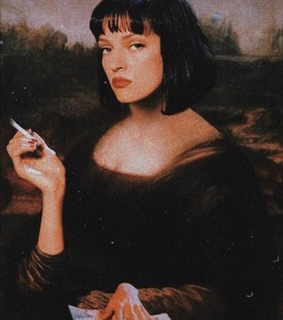 painting, gallery and woman