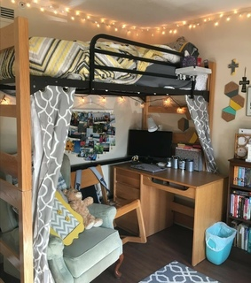 college dorm, aesthetic and room