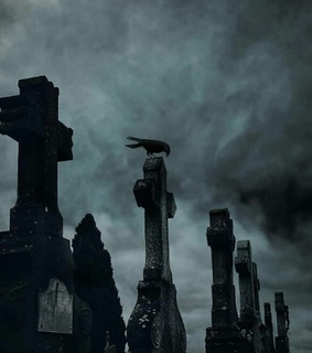 goth, stone and cemetery