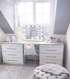 beauty room, room decor and decorations