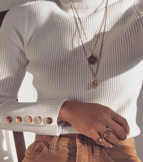 white top, outfit inspo and gold jewelry
