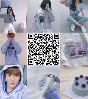 doyoung, aesthetic and purple