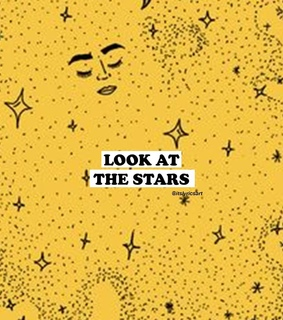 stars, coldplay and yellow