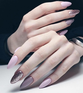 acrylic nails, cute and trendy