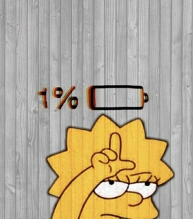 wallpapers, simpsons and mood