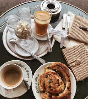 coffee, april and breakfast