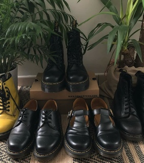 drmartens, fashion and black shoes