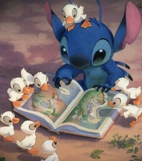 book, lovely and ducks