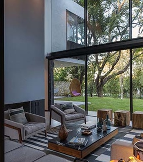 home design, dream home and courtyard