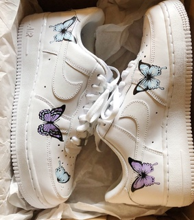 air force ones, sneakers and aesthetic