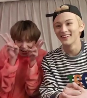 nct, mark and donghyuck